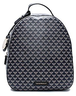 Emporio Armani Small Logo Motif Backpack