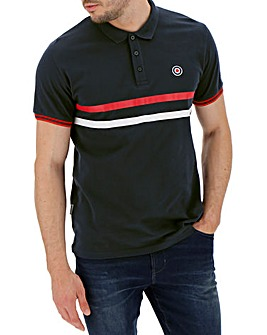 Lambretta Chest Stripe Polo