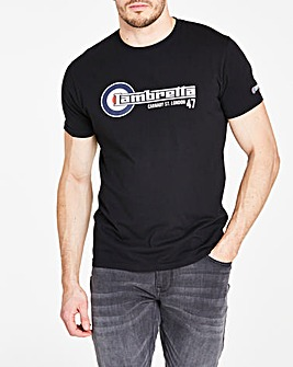 Lambretta Flag Logo T-Shirt Long