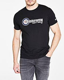 Lambretta Flag Logo T-Shirt Long