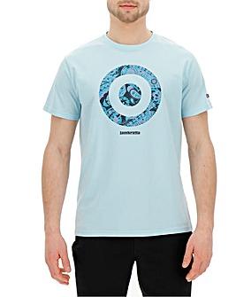 Lambretta Paisley Target T-Shirt