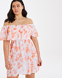 Value Cotton Bardot Beach Dress