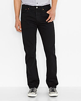 Levi's 501 Original Fit Black Jean 32 In