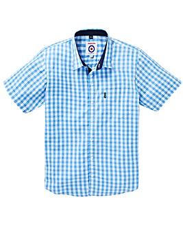 Lambretta Gingham Check Shirt Long
