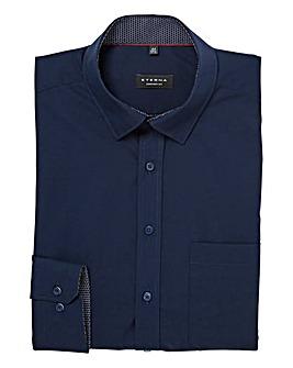 Eterna Mighty Plain Contrast Trim Shirt