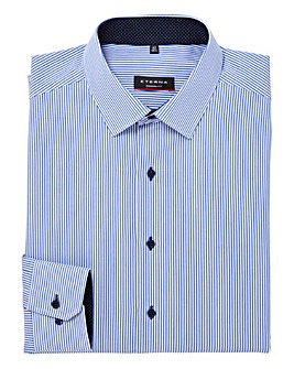 Eterna Tall Stripe Formal Shirt