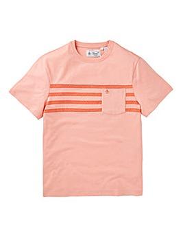 Original Penguin Printed Stripe T-Shirt