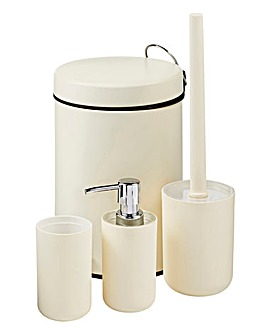 Brighton 4 Piece Bathroom Accessory Set