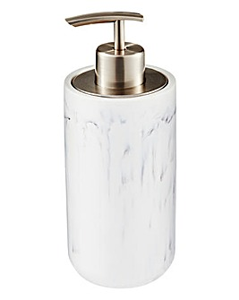 Marble Effect Soap Dispenser