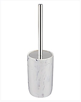 Marble Effect Toilet Brush & Holder