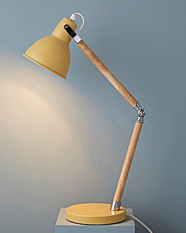 Drake Retro Yellow Desk Lamp