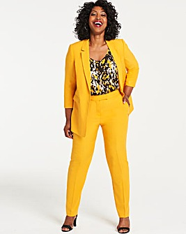 Mix and Match Ochre Tapered Leg Trousers