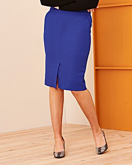 Mix and Match Colbalt Pencil Skirt