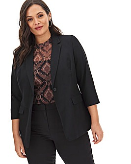 Mix & Match Black Fashion Blazer