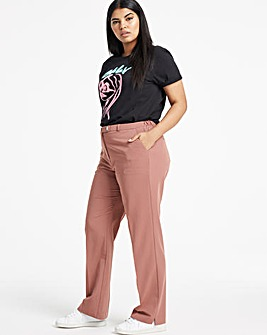 Tailored Straight Leg Trousers