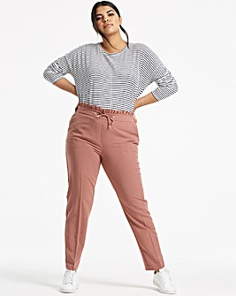Tailored Tapered Leg Trousers