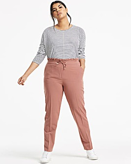 Tailored Tapered Leg Trousers Petite