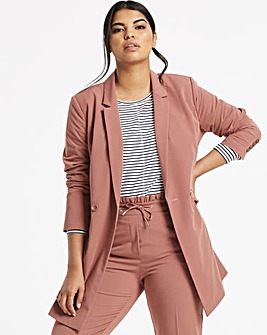 Tailored Workwear Longline Blazer
