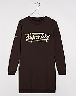 Superdry Graphic Sweat Dress