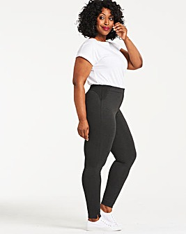 Black Marl Shape & Sculpt Ponte Tregging