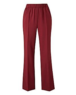 Basic Bootcut Workwear Trousers