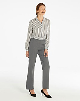 Basic Bootcut Workwear Trousers
