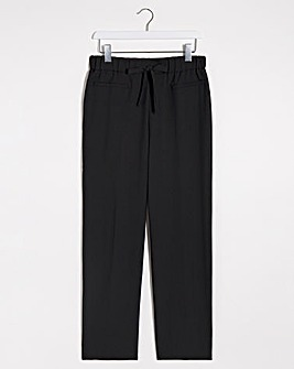 Basic Straight Leg Workwear Trousers