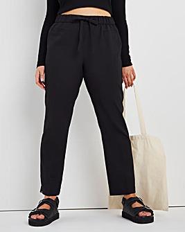 Basic Straight Leg Workwear Trousers