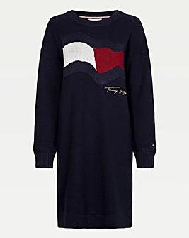 Tommy Hilfiger Motion Flag Dress