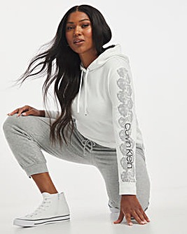 Calvin Klein Print Sleeve Hoodie