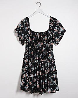 Lovedrobe Bardot Mini Dress