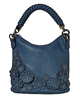Joe Browns Flowers Applique Bag
