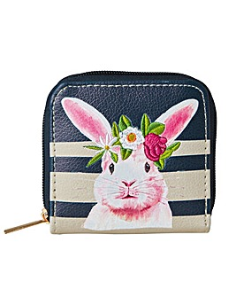 Joe Browns Cute Pink Rabbit Purse