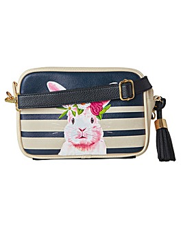 Joe Browns Cute Pink Rabbit Bag
