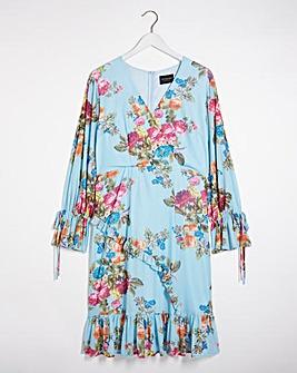 Lovedrobe Floral Wrap Dress