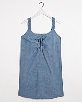 Vero Moda Akela Chambray Dress