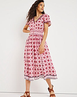Joe Browns Border Print Dress