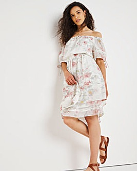 Joe Browns Tierd Floral Dress