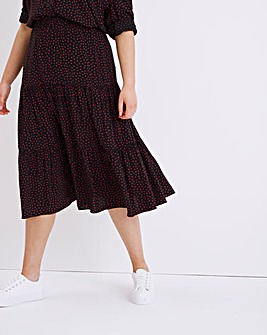 Finery London Simone Spot Skirt