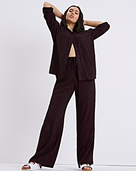 Finery London Natalya Spot Trousers