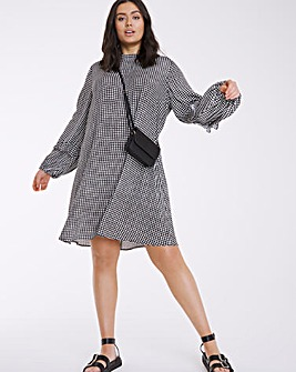Finery London Check Rose Dress