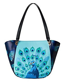 Joe Browns Proud Peacock Tote Bag