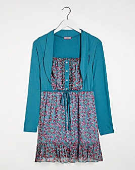 Joe Browns Ditsy Flower Shrug Tunic