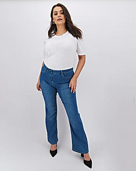 Kim High Waist Super Soft Bootcut Jeans Long Length