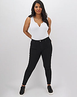 Petite Lucy High Waisted Super Soft Skinny Jeans