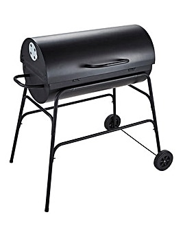 Spear & Jackson Steel Drum BBQ with Lid