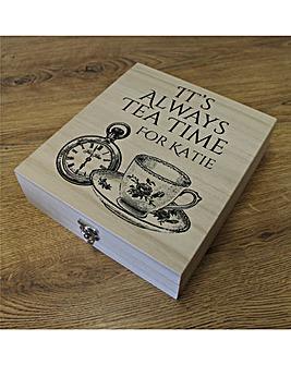 Personalised Twinings Tea Box