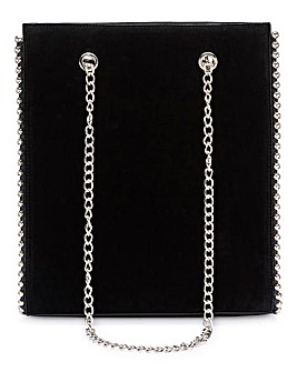 Joanna Hope Black Beaded Edge Bag