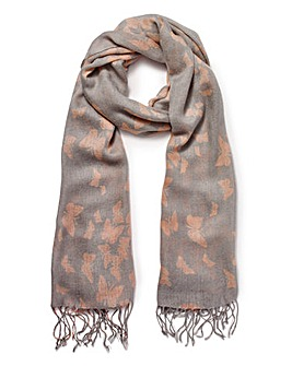 Capsule Butterfly Print Scarf
