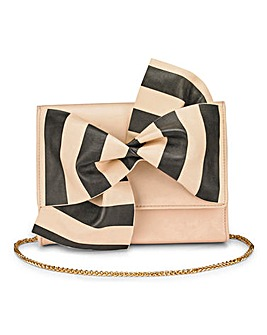 Coast Oiana Stripe Bow Bag
